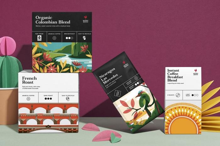 Arche 咖啡VI设计、产品包装设计 包装设计 VI设计
