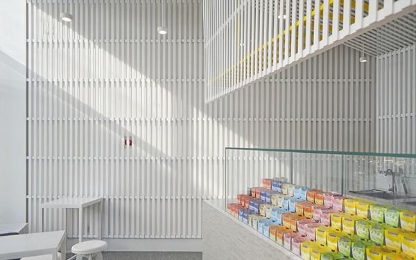 北京乐纯酸奶快闪店设计 饮品店设计 酸奶店设计 快闪店设计 北京