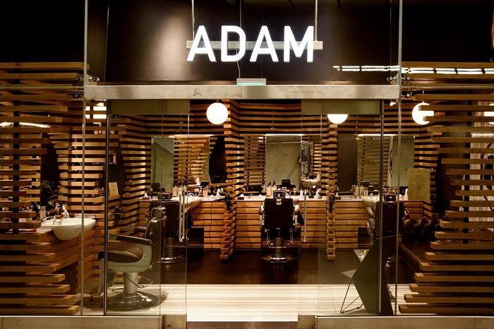 英国伦敦 ADAM 时尚美容理发店设计 英国 美发沙龙设计 理发店设计 土耳其