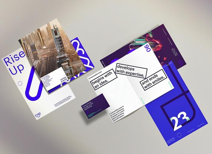 迪拜 Vortex 企业品牌形象设计 网站设计 画册设计 标志设计 品牌形象设计