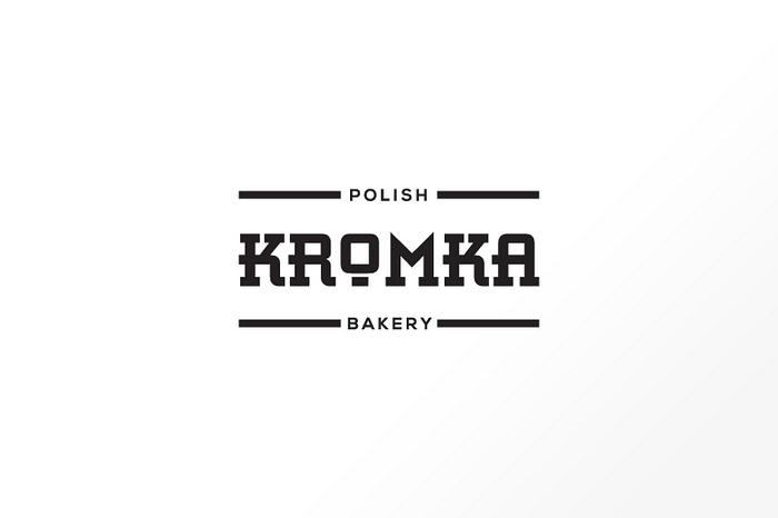 伦敦 Kromka 面包店品VI设计 标志设计 名片设计 包装设计 VI设计