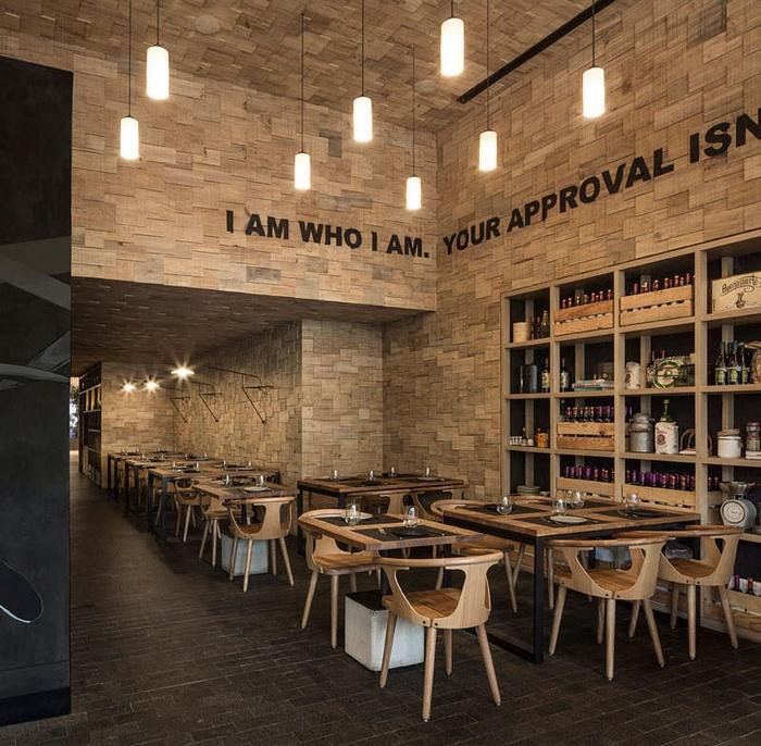 墨西哥 Canalla Bistro 餐厅设计 餐厅设计 墨西哥