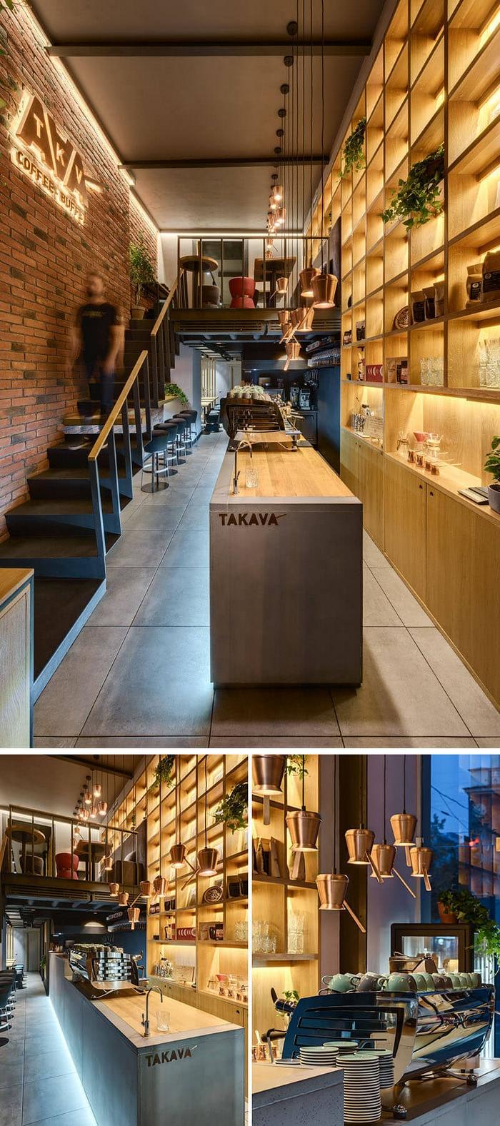 乌克兰 TAKAVA 咖啡厅设计 咖啡厅设计