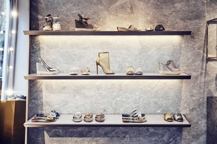 英国伦敦 GINA 时尚旗舰店设计 鞋店设计 英国 旗舰店设计 专卖店设计