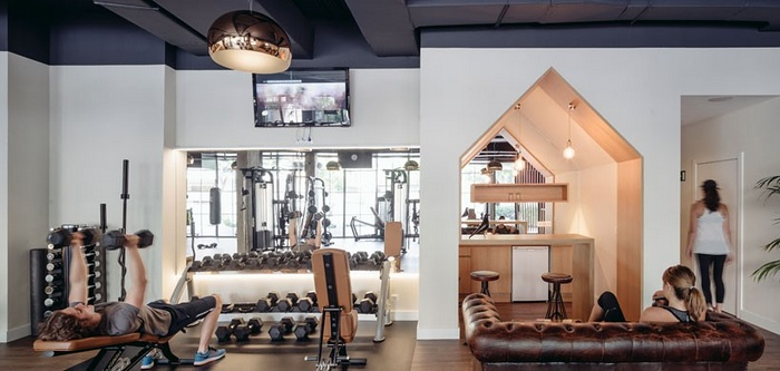 西班牙马德里 CLUB XII 健身房设计 西班牙 健身房设计