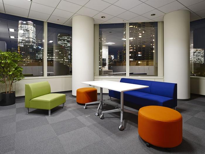 东京 NBC Universal 办公室设计 日本 办公室设计 东京