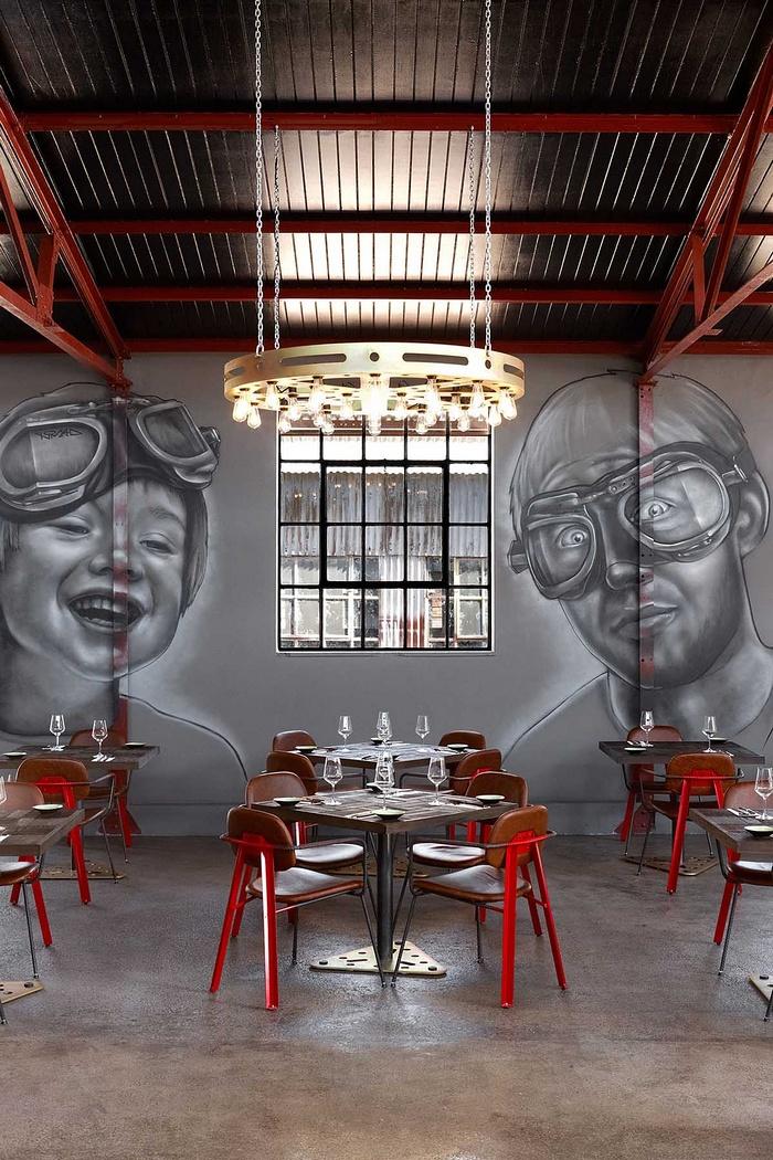 南非约翰内斯堡 Mad Giant Beer 酒吧餐厅设计 餐厅设计 酒吧设计
