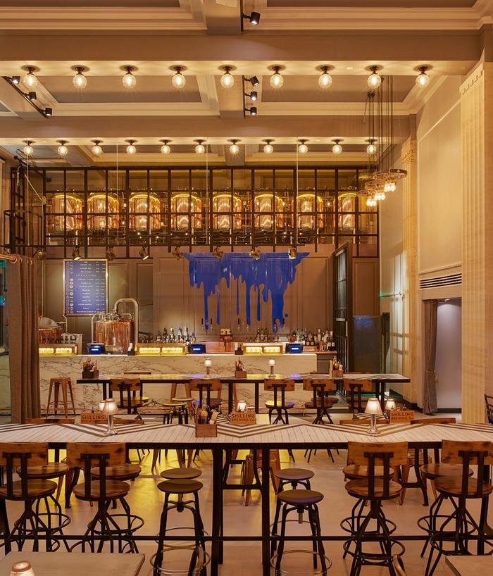 格拉斯哥 shilling bar & brewery 酒吧设计 酒吧设计