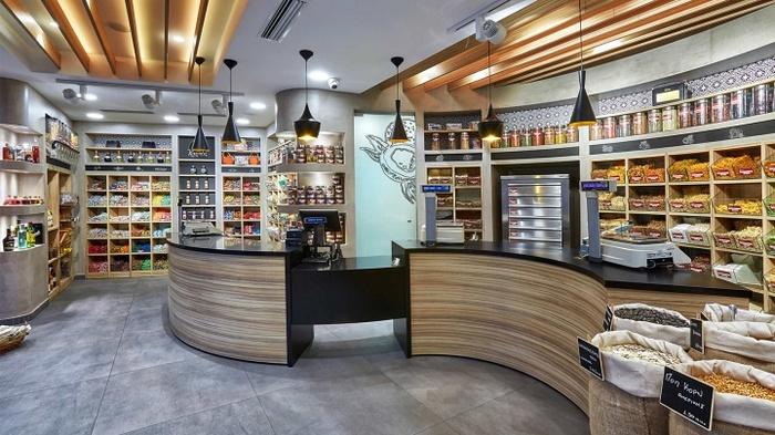 希腊伊拉克里翁 CHORAITIS 干果店设计 零食店设计 店面设计 希腊 专卖店设计