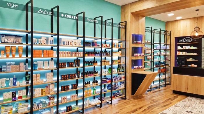 希腊克里特岛 Tsikandilakis 药店设计 药店设计 希腊