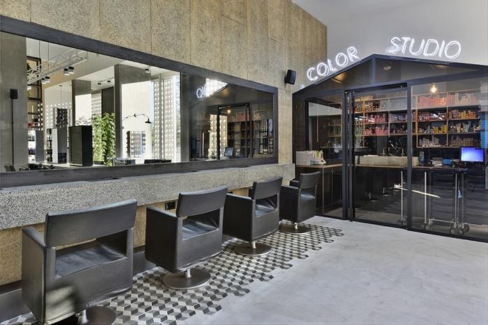 塞浦路斯尼科西亚 Miele 时尚美发沙龙设计 美发沙龙设计 理发店设计 店面设计 商业空间设计