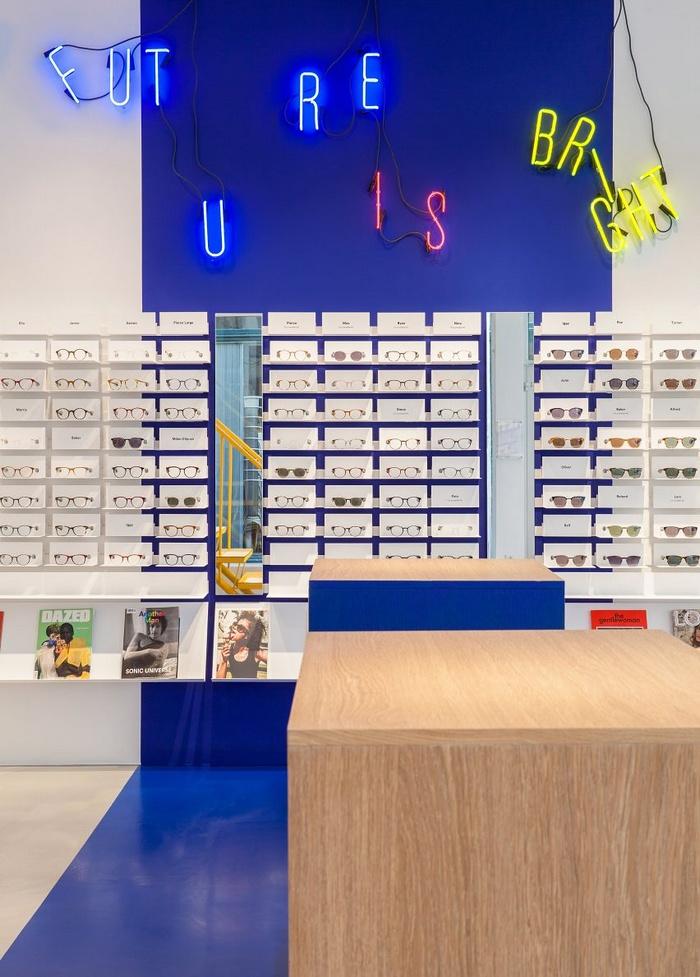 丹麦哥本哈根 Ace & Tate 时尚眼镜店设计 眼镜店设计 店面设计 商业空间设计