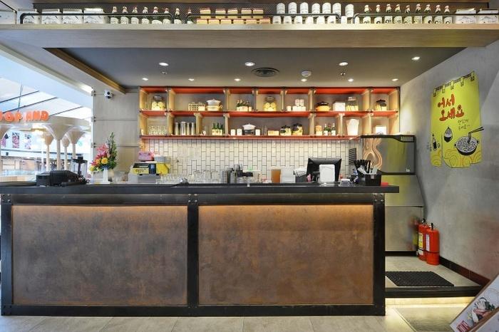 印度尼西亚雅加达 Ojju 韩式餐厅设计 餐厅设计 韩国