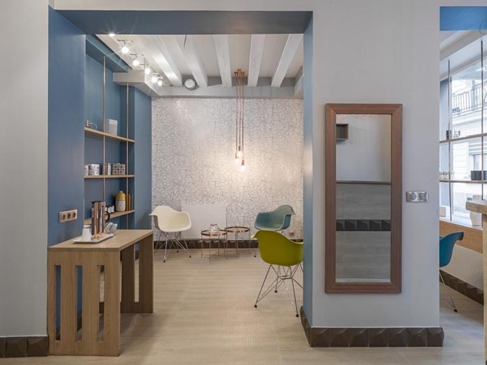 巴黎 Atelier du Palper Rouler 按摩店设计 法国 按摩店设计