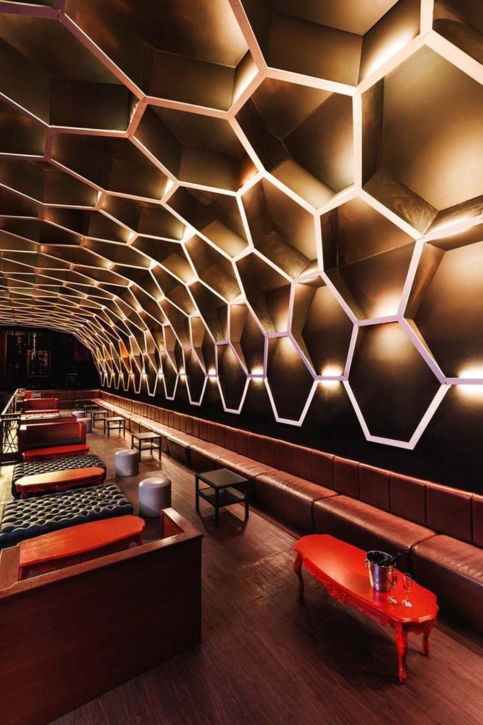 墨西哥 Light Club 夜总会设计 夜总会设计 墨西哥 KTV设计