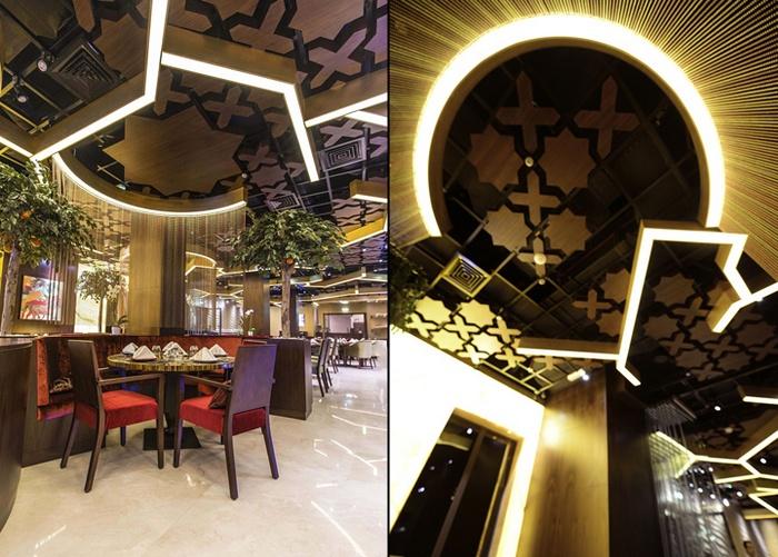 迪拜 SARGON 时尚餐厅设计 餐厅设计