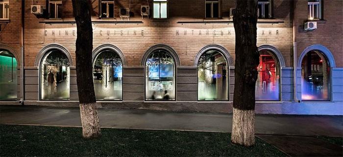 乌克兰基辅 BAO 创意中餐厅设计 餐厅设计 中国