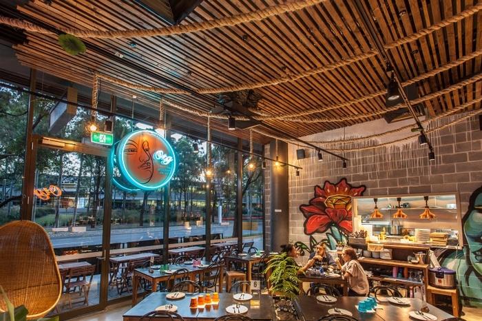 悉尼 Otg Thai 泰式餐厅设计 餐厅设计 泰国