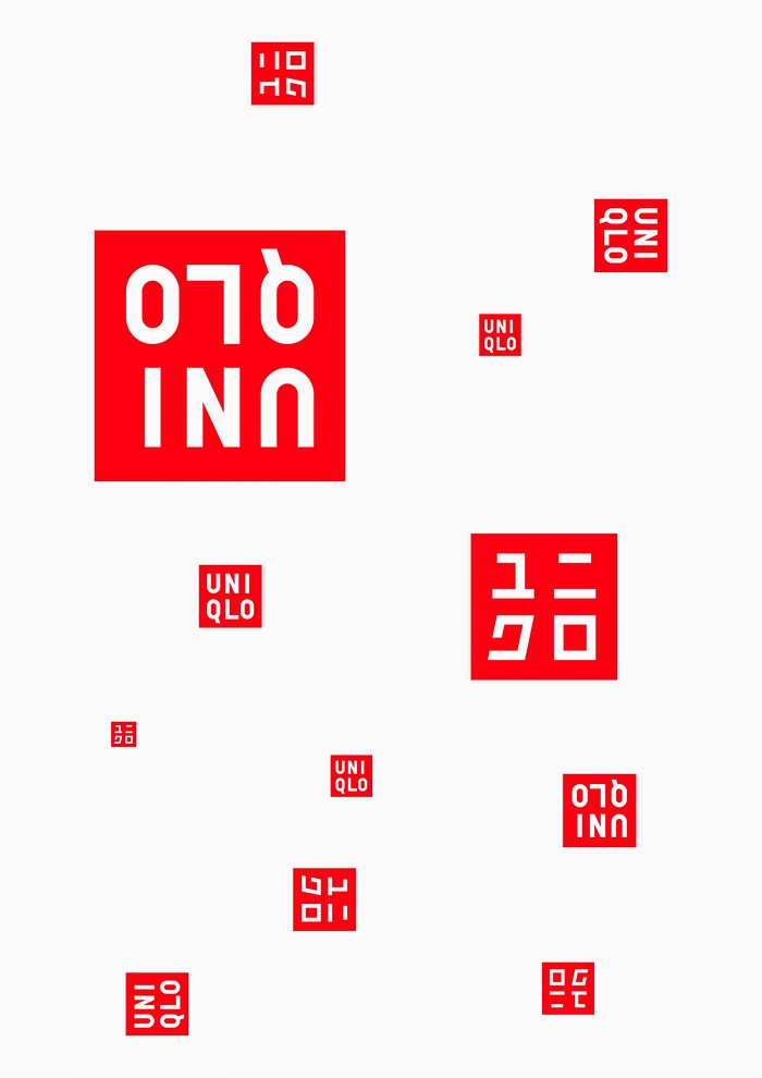 优衣库(UNIQLO)服装品牌设计 日本 店面设计 图标设计 品牌形象设计 VI设计