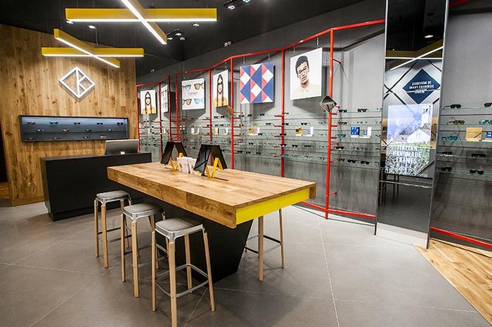 伦敦 Kite 眼镜店设计 眼镜店设计 店面设计