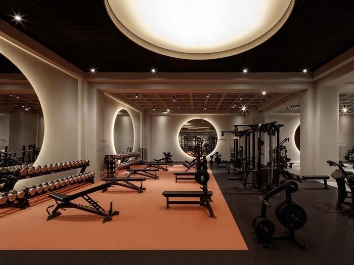 迪拜 Warehouse 几何健身房设计 健身房设计