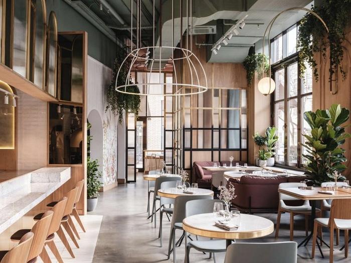 俄罗斯莫斯科 They 餐厅设计 餐厅设计 咖啡厅设计 俄罗斯