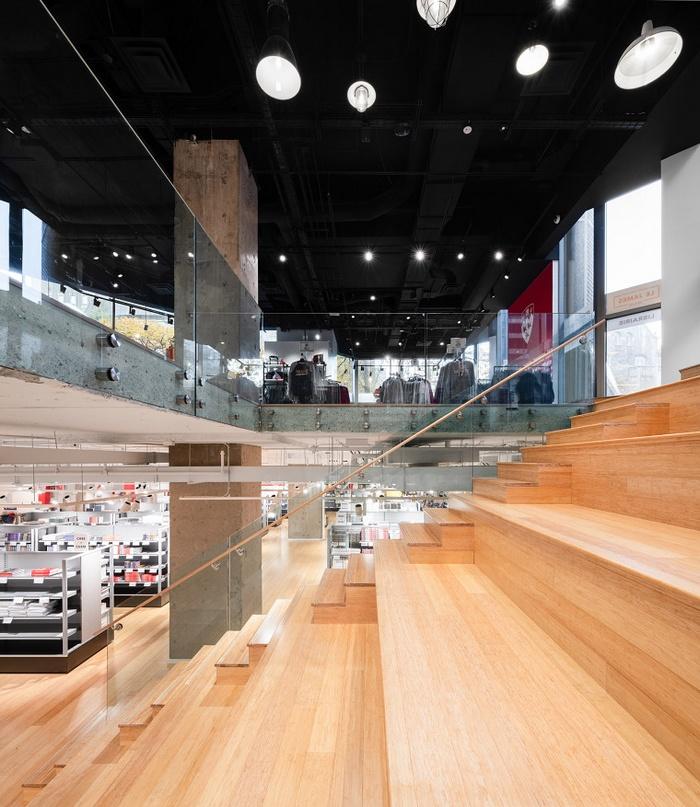 加拿大麦吉尔大学 Le James 书店设计 加拿大 书店设计