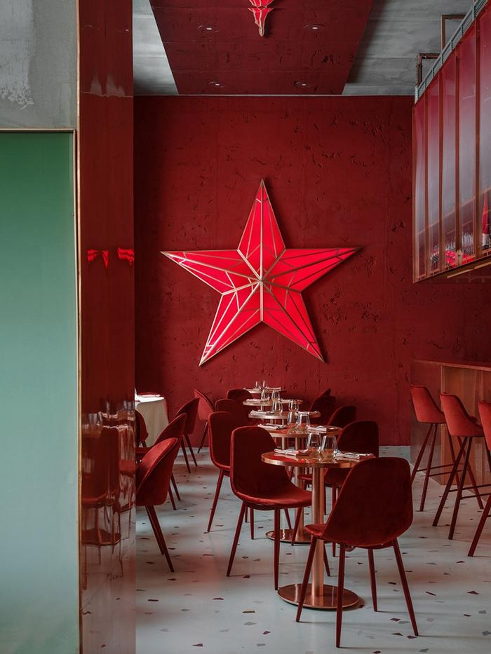 俄罗斯莫斯科 PINK MAMA 餐厅设计 餐厅设计 酒吧设计 俄罗斯