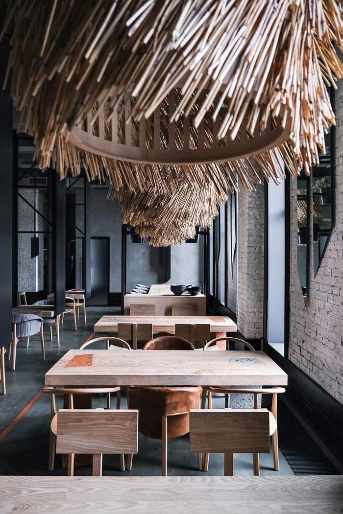 俄罗斯圣彼得堡 Lodbrok 餐厅设计 餐厅设计 俄罗斯