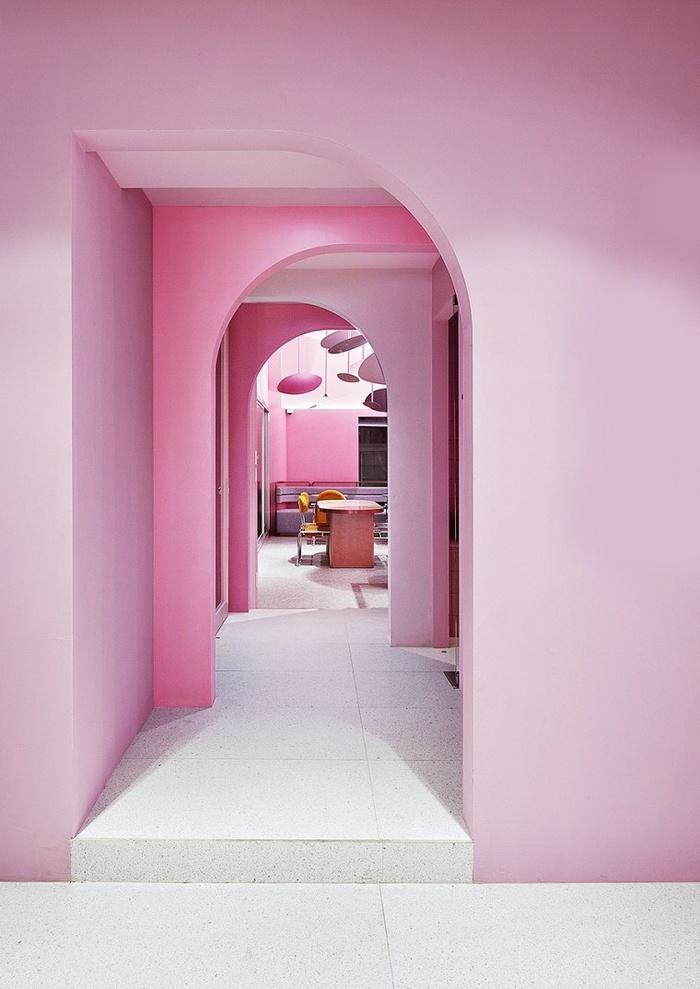 韩国首尔 Villa de Murir 美容旗舰店设计 韩国 美容院设计 旗舰店设计 店面设计