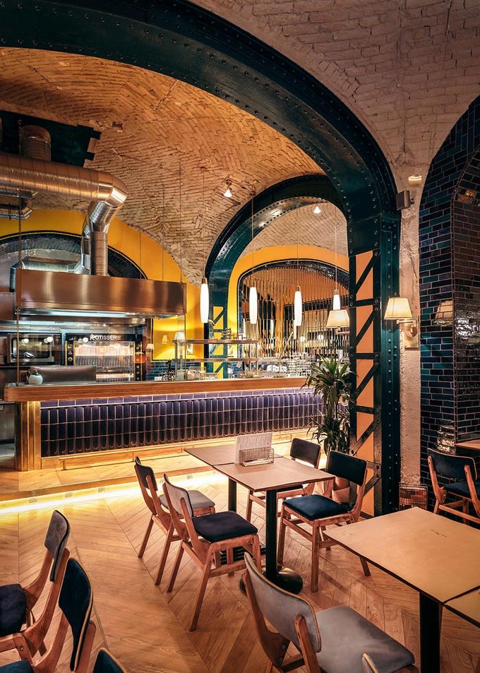 匈牙利布达佩斯 Hilda 餐厅设计 餐厅设计