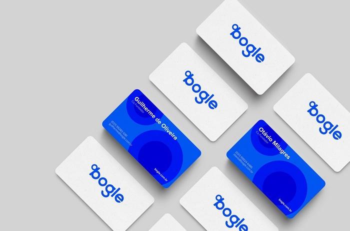 巴西 Bogle 金融科技企业VI设计和品牌视觉设计 巴西 名片设计 包装设计 VI设计