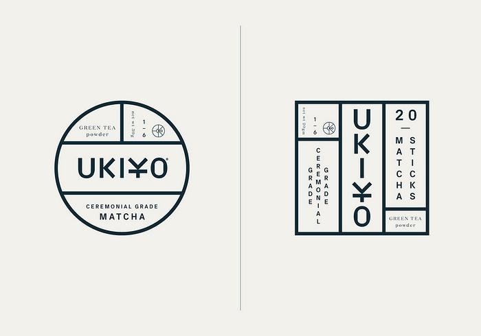 英国伦敦 UKIYO 抹茶品牌包装设计和VI视觉设计 英国 品牌形象设计 包装设计 VI设计