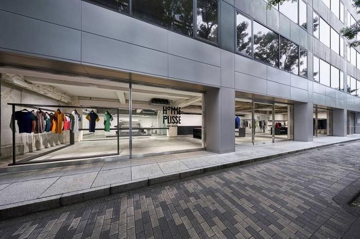日本东京 HOMME PLISSE ISSEY MIYAKE 旗舰店设计 零售店设计 概念店设计 服装店设计 日本 旗舰店设计 商业空间设计 东京