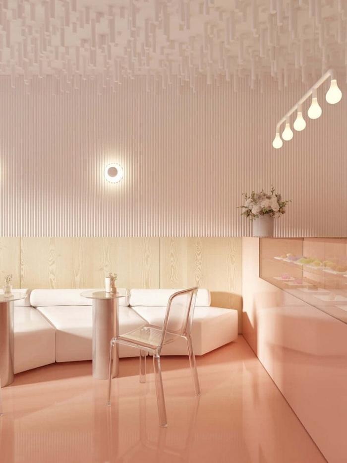 乌克兰基辅 Amai Hana 甜品店设计 甜品店设计 日本 店面设计 商业空间设计