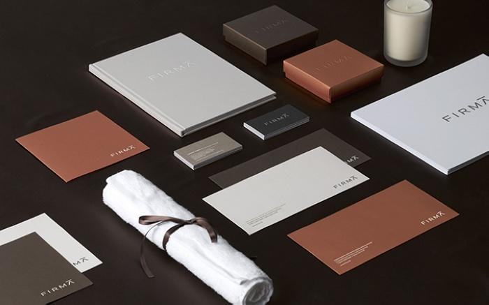 香港 FIRMA 医疗美容诊所VI设计 诊所设计 菜单设计 商业空间设计 包装设计 VI设计 SI设计